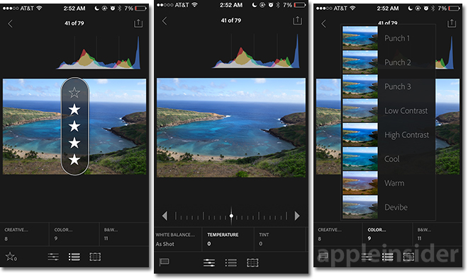 Hands-on: Adobe's Lightroom for iPhone, 'Photoshop Mix' for