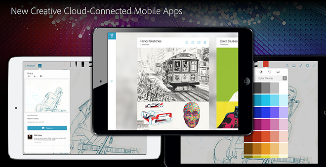 Adobe debuts Creative Cloud 2014, mobile apps, plus new