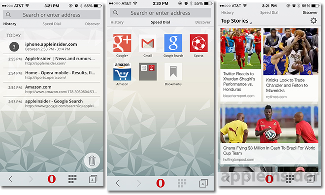 First look: Opera Mini 8 for iOS brings redesign, new data