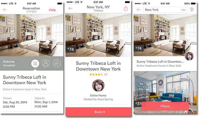 Jawbone UP and Airbnb iOS apps get all new features
