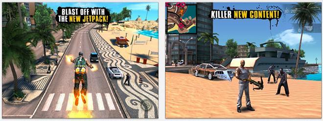 Gameloft's Gangstar Rio, N O V A  3 go free on iOS for a