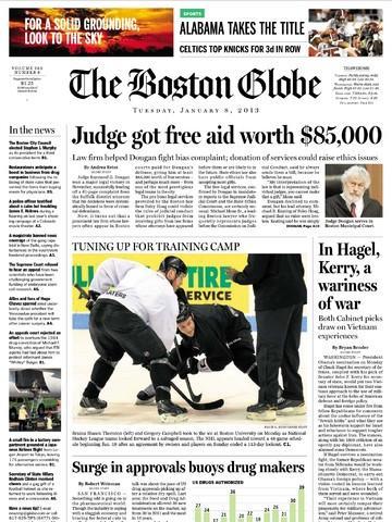 Boston Globe school program switches from paper to Apple's iPad