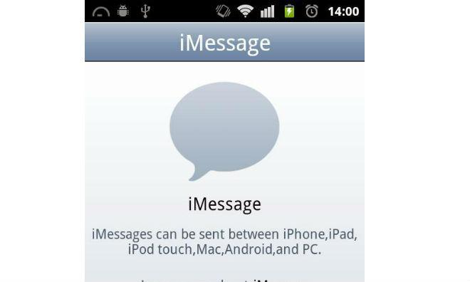 Fake iMessage app for Android spoofs Mac mini, routes chats