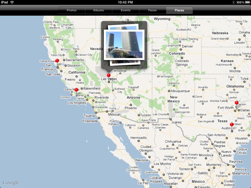 iPad Photo Places