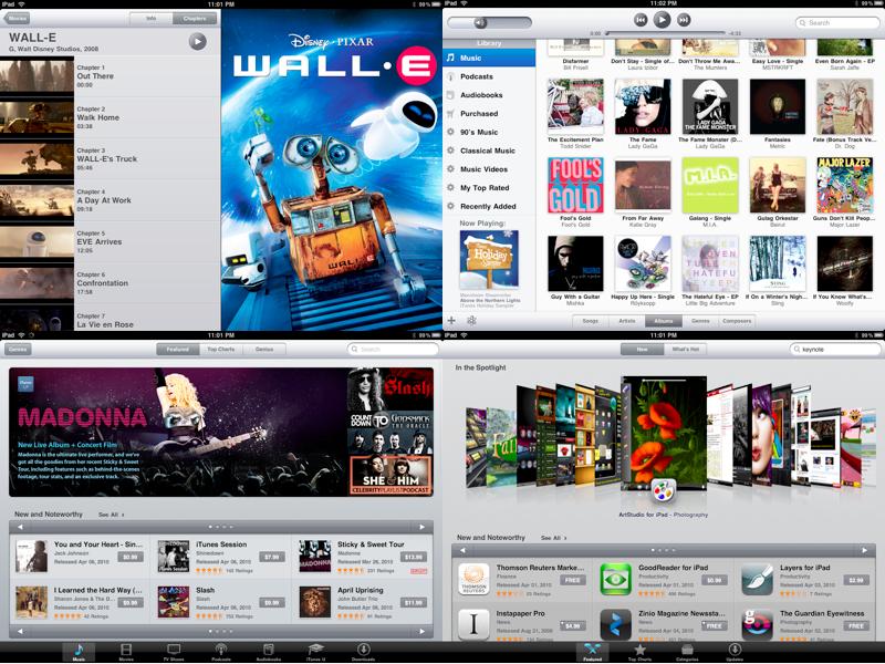 iPad iPod iTunes