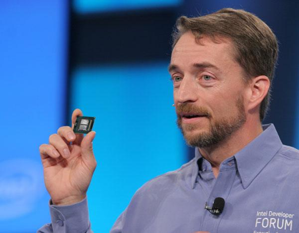 Intel's Paul Gelsinger and the Xeon 5300