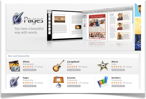 Apple's iWork '11 suite tracking for release alongside Mac App Store