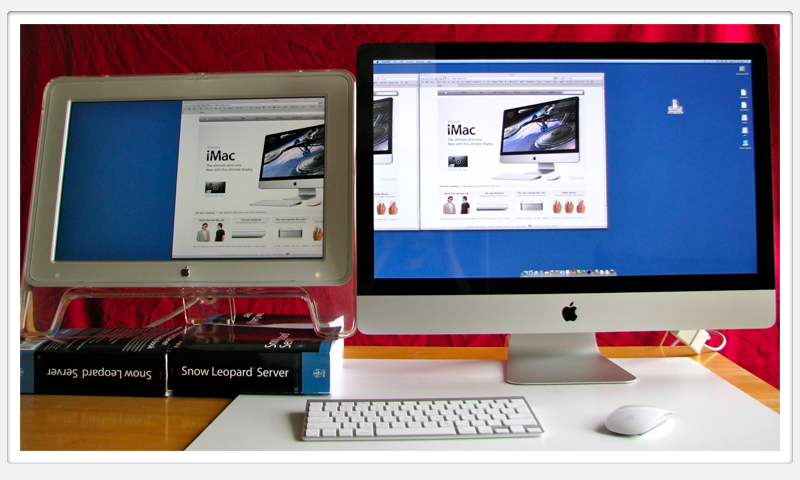 20 inch Cinema Display vs 27 inch iMac
