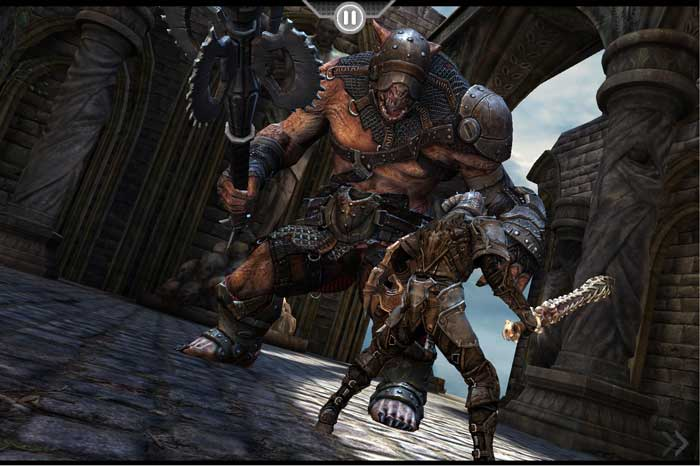 Epic's 'Infinity Blade' for iOS more profitable than 'Gears of War'