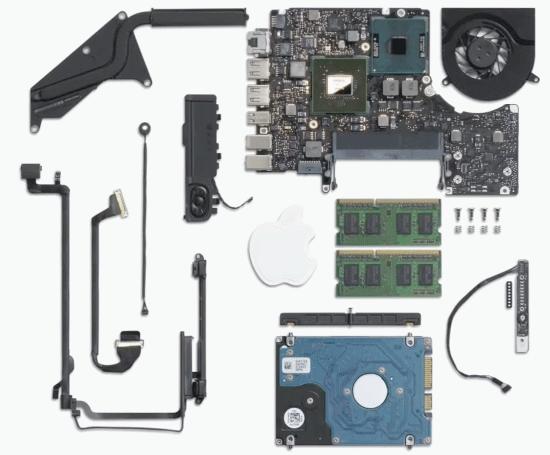 Inside MacBooks