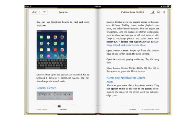 Apple preps for iOS 7 with iBooks user guides, updates to own apps