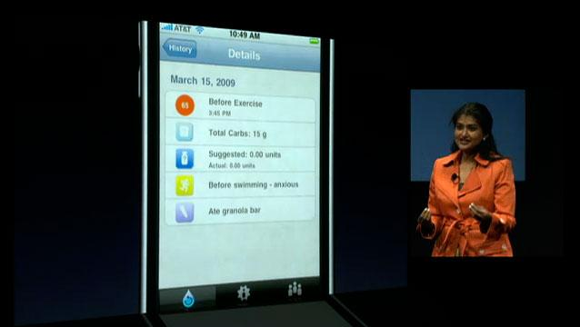 LifeScan for iPhone 3.0