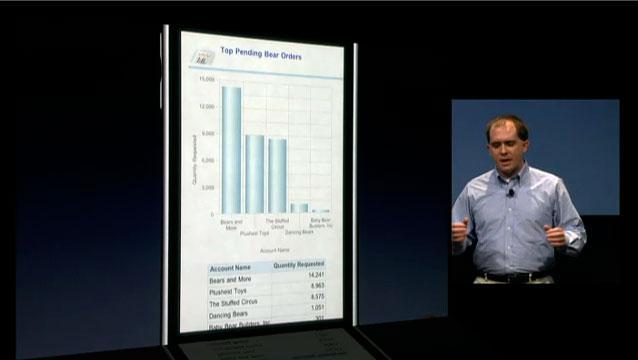Oracle iPhone 3.0 app