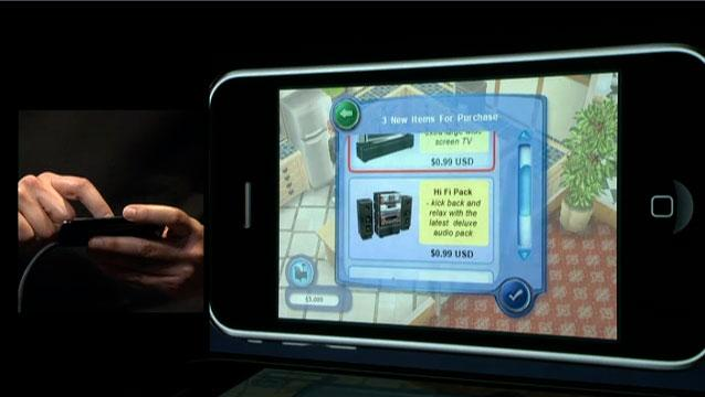 Sims 3 for iPhone