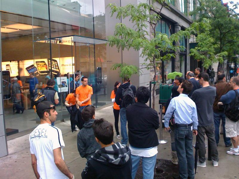 iPhone 3G S launch