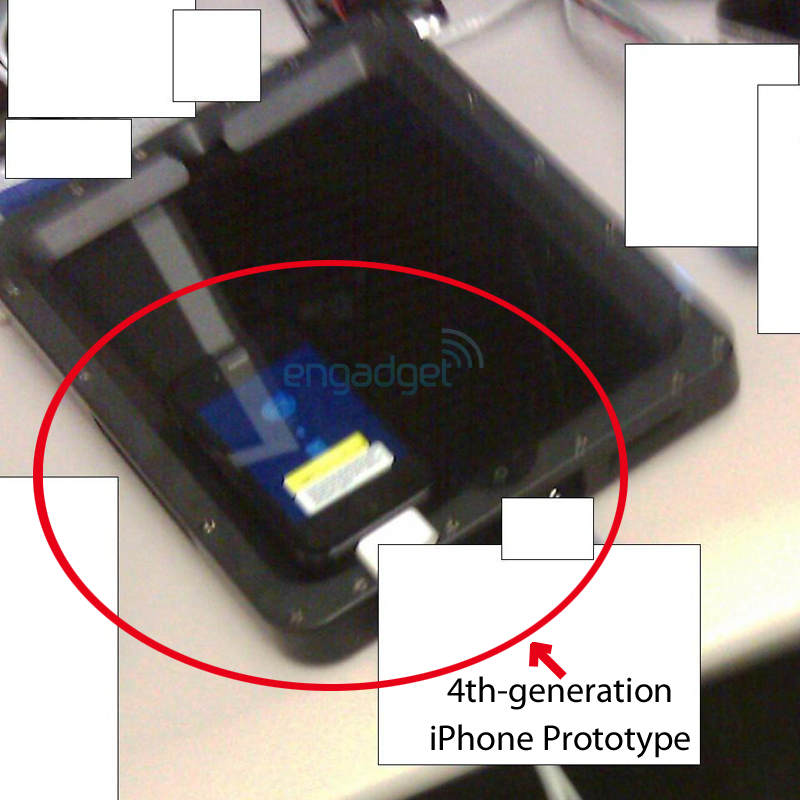 iPhone 4G prototype