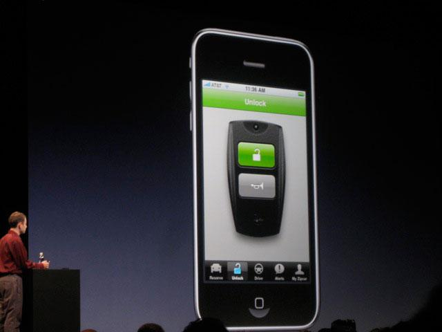 Zipcar iPhone app