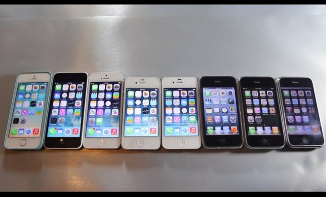 first iphone invented from iphone to 5s all eight models put to speed 10603