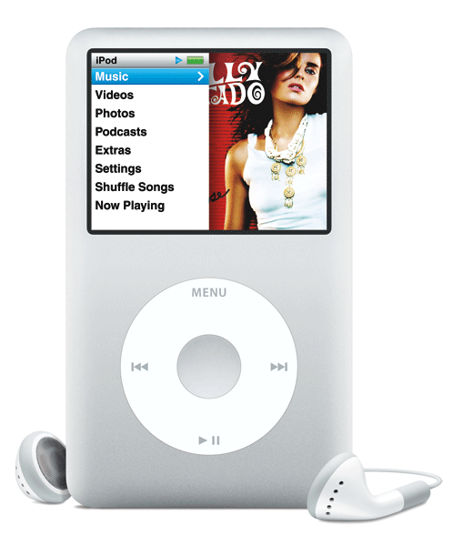 What's on Jesse McCartney's iPod? | Rap-Up |Ipod Classic Png