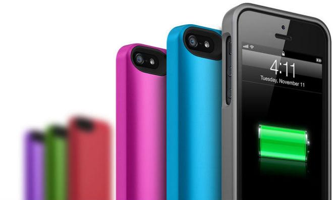 ec8cf057e iPhone 5 owners looking to pump extra life into their smartphone batteries  will now have the option of choosing from a total of seven differently  colored ...