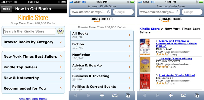 how to download amazon books to iphone