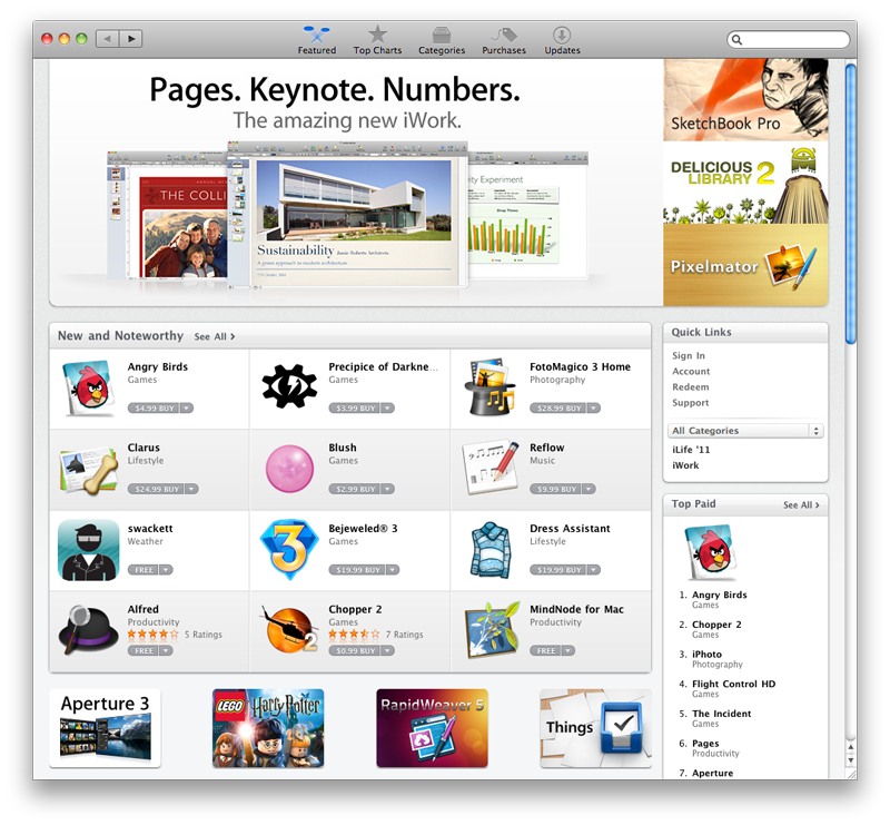 Apple releases Mac OS X 10 6 6 with Mac App Store