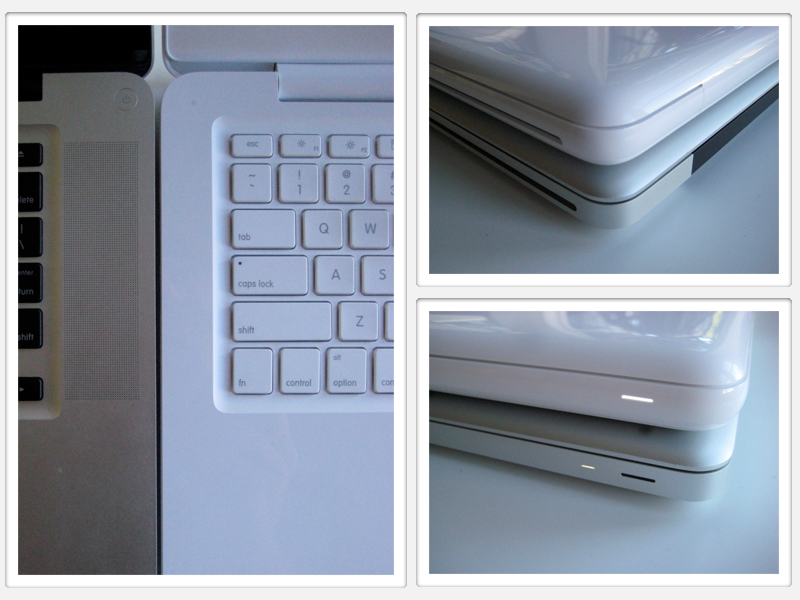 MacBook 2009 corners