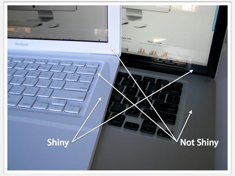 MacBook 2009 shiny