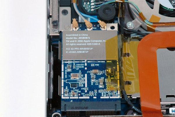 Inside the MacBook Pro Core 2 Duo