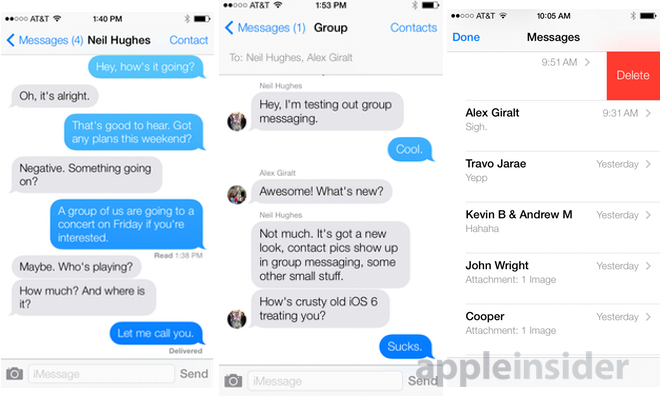 iphone invisible text inside ios 7 messages adds chat user pics 11958