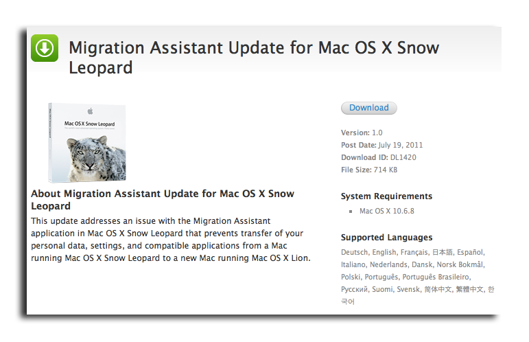 Apple confirms Mac OS X 10 7 Lion to launch on Wednesday [u]