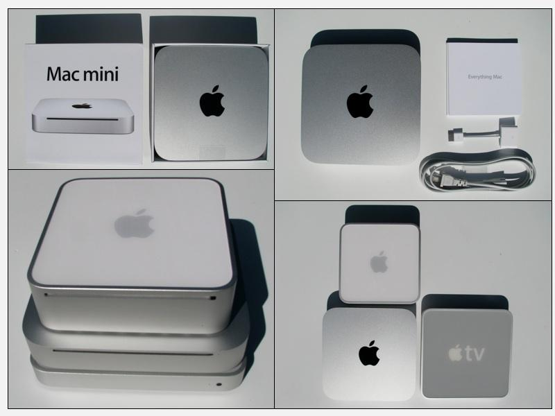 Mac Mini and Apple TV – Media Center Connections