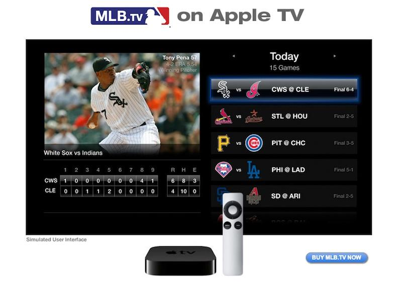 Apple TV updated to stream live MLB & NBA games, offer 5 1