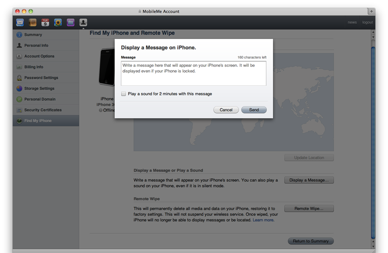 Apple testing 'Find my iPhone' ahead of other MobileMe