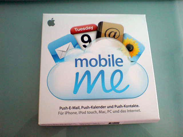 Apple accidently ships MobileMe boxes; Google Talk for iPhone