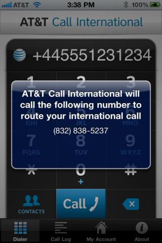 AT&T launches iPhone app for VoIP international calls