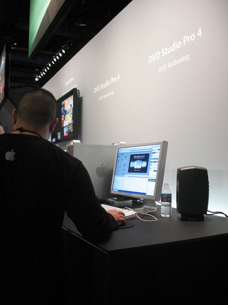 Apple Booth: NAB 2007