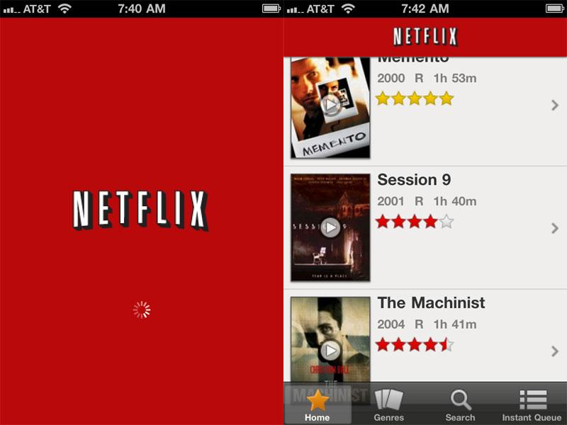 Netflix app updated to support Apple's iPhone, iPod touch