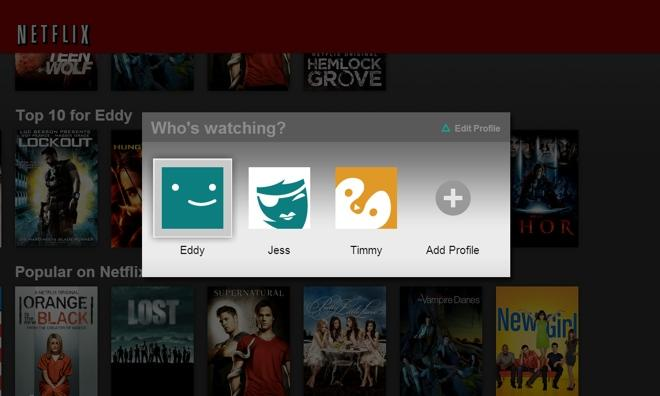 Netflix launches multi-user accounts on iOS, Apple TV, other