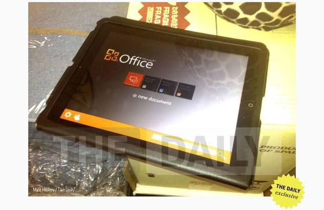 Rumor: Microsoft to launch Office for Apple's iOS in November