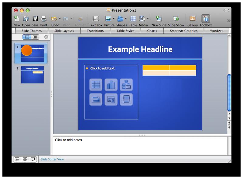 PowerPoint 2008