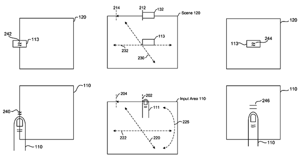 Apple touch-screen gaming patent