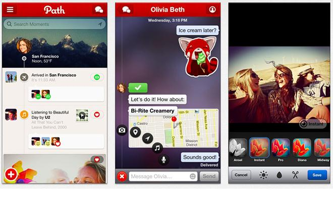 Path update brings comment stickers, Yelp for iOS adds in