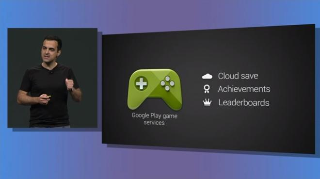Google Play game services offers cross-platform support on