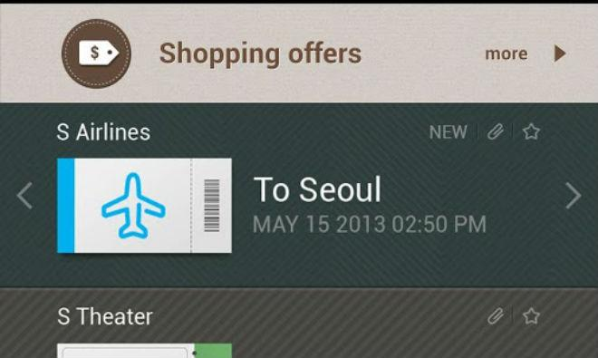 Samsung clone of Apple's Passbook hits Google Play for some