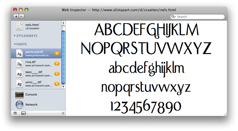 Apple's Safari 3 1 to support downloadable web fonts, more