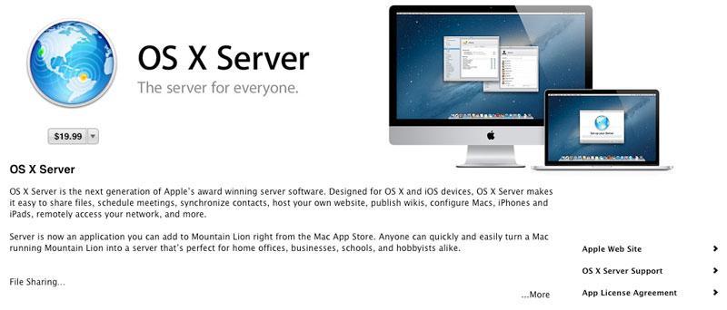 Mountain Lion updates for OS X Server, Xcode, Remote Desktop