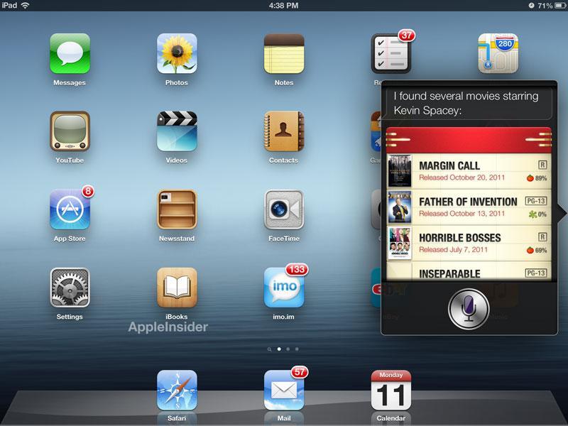First look: iOS 6 brings Siri to iPad, adds Facebook integration