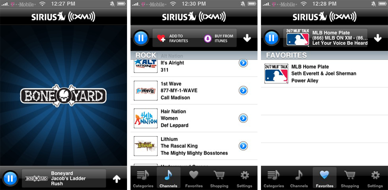 First look: Sirius XM's streaming satellite radio app for iPhone