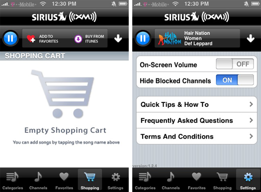 First Look Sirius Xm S Streaming Satellite Radio App For Iphone Appleinsider